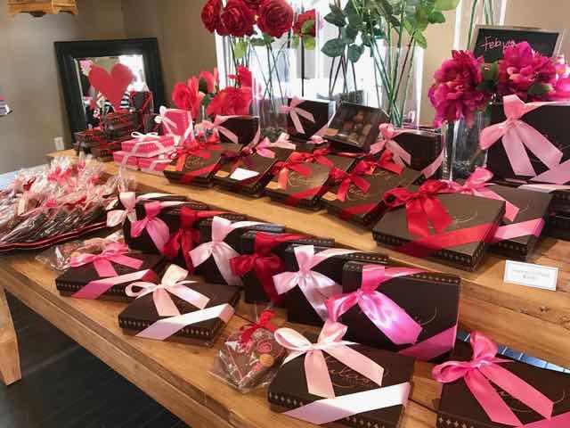 Lula's chocolates Valentines selection | NevertoOldtoTravel.com | Gary House