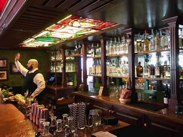 Mezcal bar at Cultura restaurant | NevertoOldtoTravel.com | Gary House